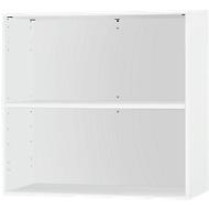 Anstell-/Aufsatzregal SET UP, 2 Ordnerhöhen, B 800 x T 420 x H 726 mm, weiß