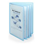 Antibacteriële displaypanelen Duurzame Sherpa® Bact-O-Clean, voor Sherpa® & Vario® displaypaneelsystemen, 5 panelen, A4, polypropyleen