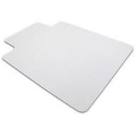 antistatische mat, puntig, met uitsparing, 900 x 1200 mm, voor harde vloeren