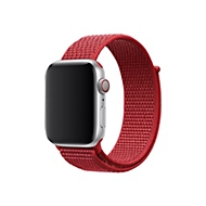 Apple 44mm Sport Loop - (PRODUCT) RED - Uhrarmband für Smartwatch