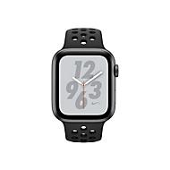 Apple Watch Nike+ Series 4 (GPS + Cellular) - Weltraum grau Aluminium - intelligente Uhr mit Nike Sportband - anthrazit/schwarz - 16 GB - nicht angegeben