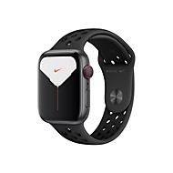 Apple Watch Nike Series 5 (GPS + Cellular) - Weltraum grau Aluminium - intelligente Uhr mit Nike Sportband - anthrazit/schwarz - 32 GB - nicht angegeben