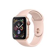 Apple Watch Series 4 (GPS + Cellular) - Gold Aluminium - intelligente Uhr mit Sportband - rosa sandfarben - 16 GB - nicht angegeben