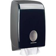 AQUARIUS handdoekdispenser, zwart