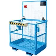 Arbeitsbühne MB-ST/T, blau RAL 5012