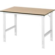 Arbeitstisch, MDF-Platte, B 1250 x T 800 x H 760-1080 mm