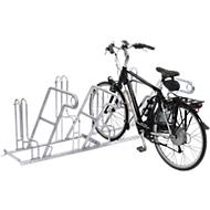 Arceau d'appui pour vélos 4602 XBF, accès d'un côté, 2 emplacements