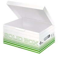 Archiefbox Leitz Solid Box S 6117, 10 stuks, groen