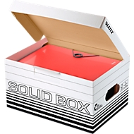 Archiefbox Leitz Solid Box S 6117, 10 stuks, wit