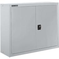 Archiefkast SSI Schäfer MSI 8408, B 800 x D 400 x H 800 mm, 3 legborden, staal, wit aluminium RAL 9006