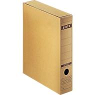 Archiv-Schachtel mit Verschlusslasche von LEITZ® 6084