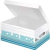 Archivbox Leitz Solid Box S 6117, 10 Stück, blau