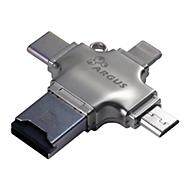 Argus R-010 - Kartenleser - Lightning/USB 2.0/USB-C/micro USB