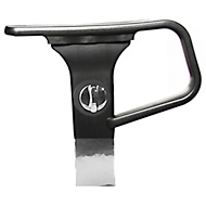 Armleuningen voor bureaustoel Ergo Point, in hoogte verstelbaar, zwart