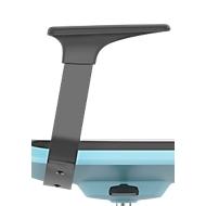 Armleuningen voor werkstoel Labsit, eenvoudig te monteren