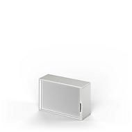 Armoire à rideaux d'extension TETRIS WOOD, 2 HC, l. 1200 mm, gris clair