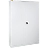 Armoire d'atelier lxP 1345 x 420 mm gris clair / gris clair