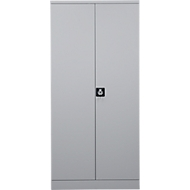 Armoire en acier, l. 920 x P 420 x H 1950mm, gris clair RAL 7035