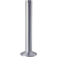 Asbak 'zuil', aluminium, Ø 300 x H 780 mm, gematteerd