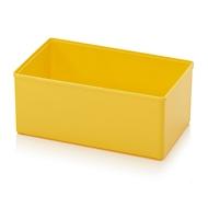 Assortimentsdoos inzetbak, voor rasterafmeting 2 x 3, rechthoekig, geel