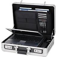 Attaché case aluminium pour ordinateur portable ALUMAXX®
