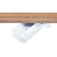 Aufbewahrungsbox Unterbau-Schwenkschale SWING, drehbar, weiß