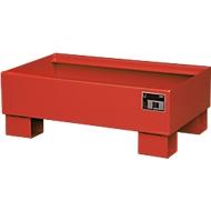 Auffangwanne AW60-1 rot RAL3000