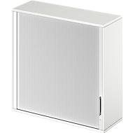 Aufsatz-Querrolladenschrank TETRIS WOOD, 3 OH, B 1200, weiß