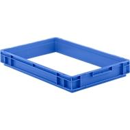 Aufsatzrahmen für Kasten im EURO-Maß, blau