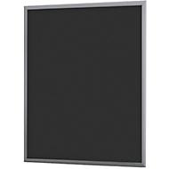 Aushängetafel A2, 505 x 15 x 765 mm, anthrazit