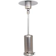 Außenheizung WÄRMEPILZ CHROM, Aluminium/Edelstahl, mit Gas, Piezo-Zündung, 13.000 W, mit Rollen