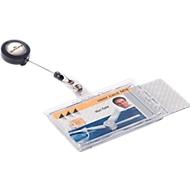 Ausweishalter mit Aufrollmechanismus von DURABLE, 10 Stück