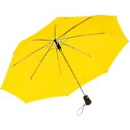 Automatik-Windproof-Taschenschirm Bora, gelb