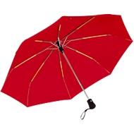 Automatik-Windproof-Taschenschirm Bora, rot
