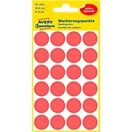 AVERY Zweckform markeringspunten 3004, rood