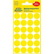 AVERY Zweckform markeringspunten 3007, geel