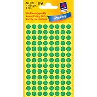 AVERY Zweckform markeringspunten 3012, groen
