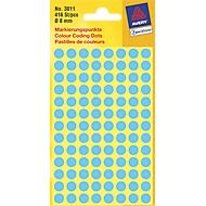 AVERY Zweckform Markierungspunkte 3011, blau