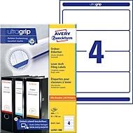 AVERY® Zweckform ordnerrugetiketten, wit, L4761, 400 etiketten/pak