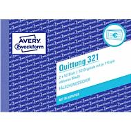 Avery Zweckform Quittung inkl. MwSt. Nr. 321