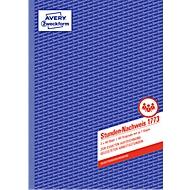 Avery Zweckform registratiebladen werkuren nr. 1773
