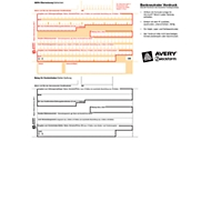 AVERY™ Zweckform SEPA-Überweisung/Zahlschein Nr. 2817