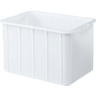 Bac alimentaire 668X452X412 mm. 96 litres. Blanc