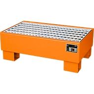 Bac de rétention AW 60-1/M, orange RAL 2000