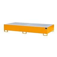 Bac de rétention AW1000-2 orange RAL2000