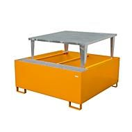 Bac de rétention AWA1000 orange RAL2000