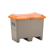 Bac de sablage transportable CEMO, en PRV, sans  ouverture de prélèvement, 200 litres, L 890 x l. 900 x H 690 mm