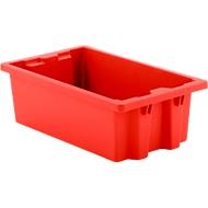 Bac gerbable et empilable FB 530, 17L, rouge