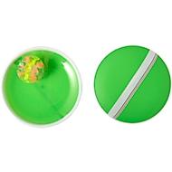 Ballspiel-Set Have Fun, 3-tlg, Fangscheiben mit Handschlaufe, limettengrün