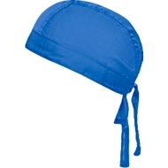 Bandana Hat, Einheitsgröße, Polyester & Baumwolle, Werbefläche 50 x 30 mm, royal-blau